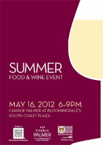Summer Food & Wine Event at South Coast Plaza
