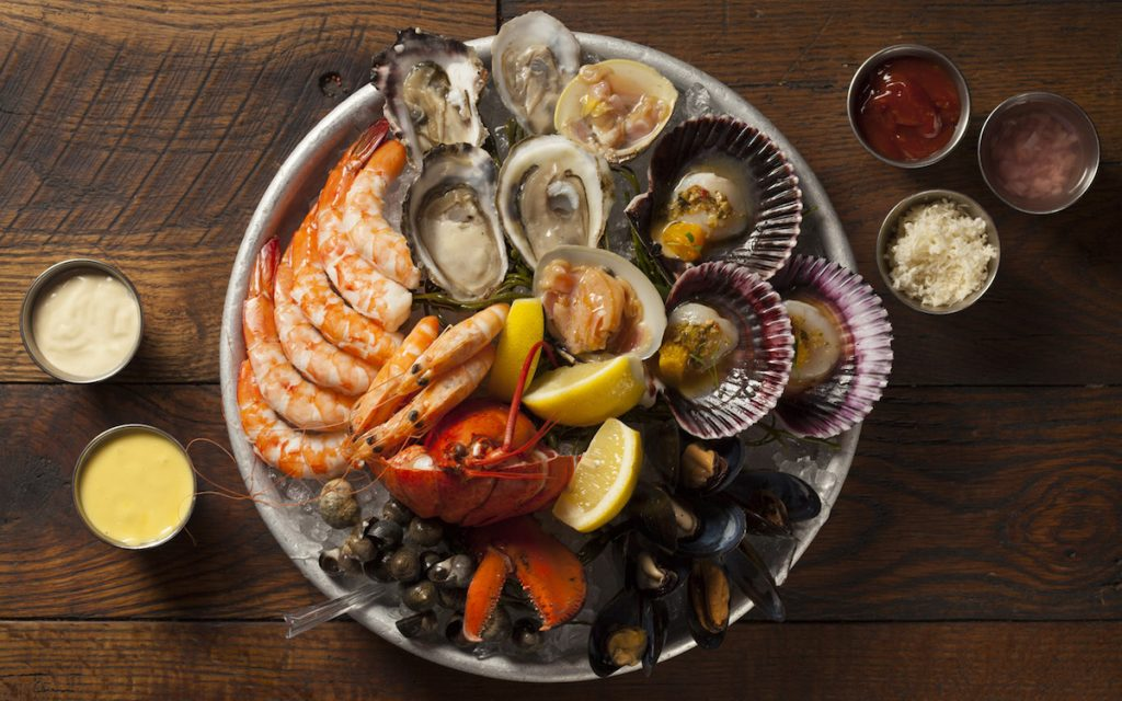 Water Grill grand shellfish platter