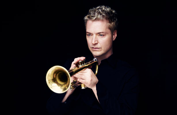 Chris Botti with trumpet