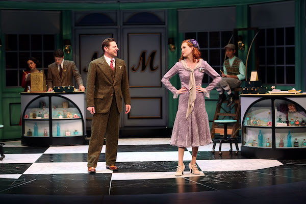 She Loves Me cast at South Coast Repertory in Costa Mesa