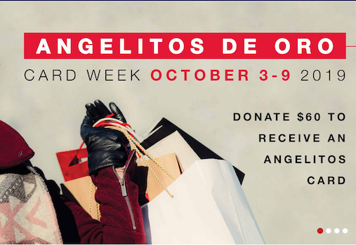 Angelitos Card Week at South Coast Plaza in Costa Mesa