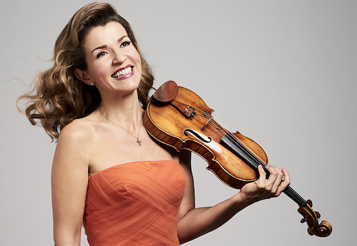 Anne-Sophie Mutter & Chamber Orchestra Vienna-Berlin at Segerstrom Center for the Arts