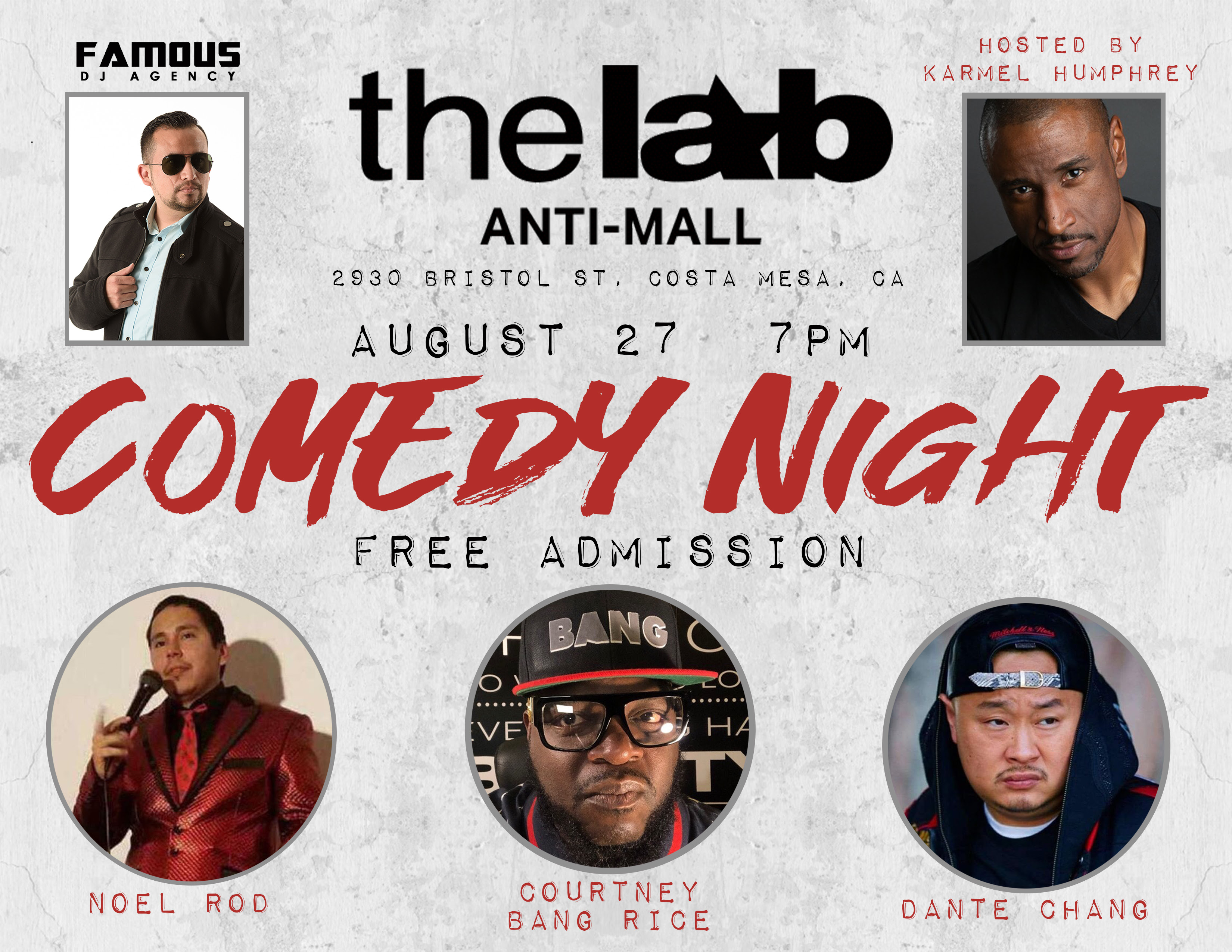 Comedy Night at The LAB