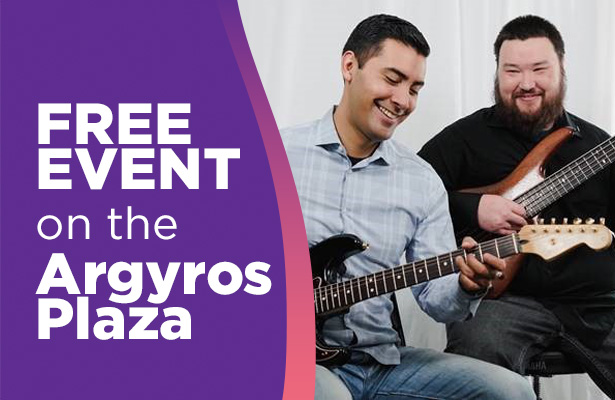 Live on Argyros Stage: The J&L Duo