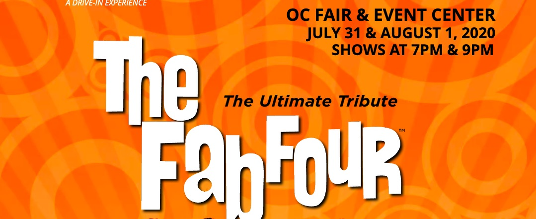 The Fab Four Drive-in Concert, August 1 at 7 p.m.