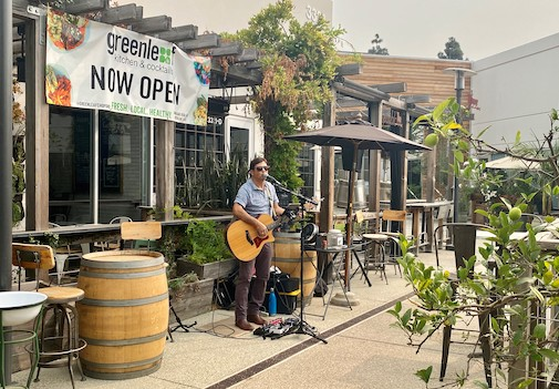 Live Music Saturdays at SOCO and The OC Mix