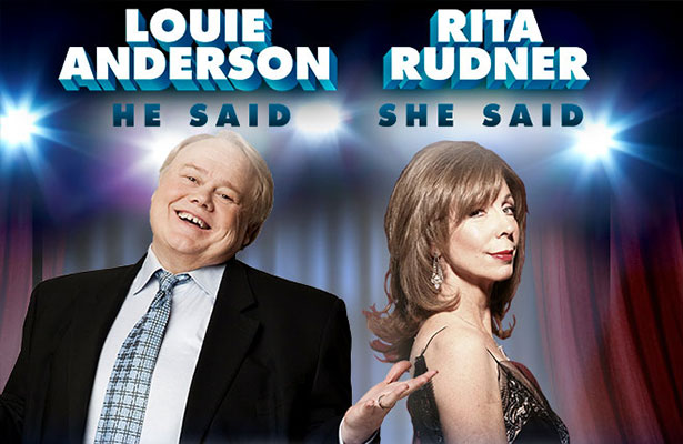 Rita Rudner and Louie Anderson <em>He Said, She Said</em> at Segerstrom Center for the Arts
